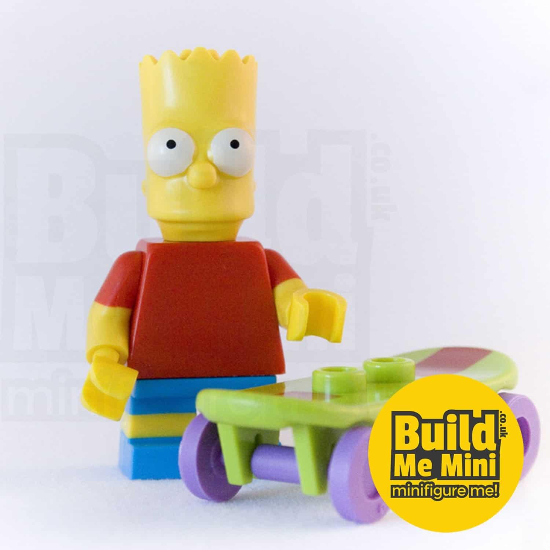 LEGO Bart Simpson Minifigure