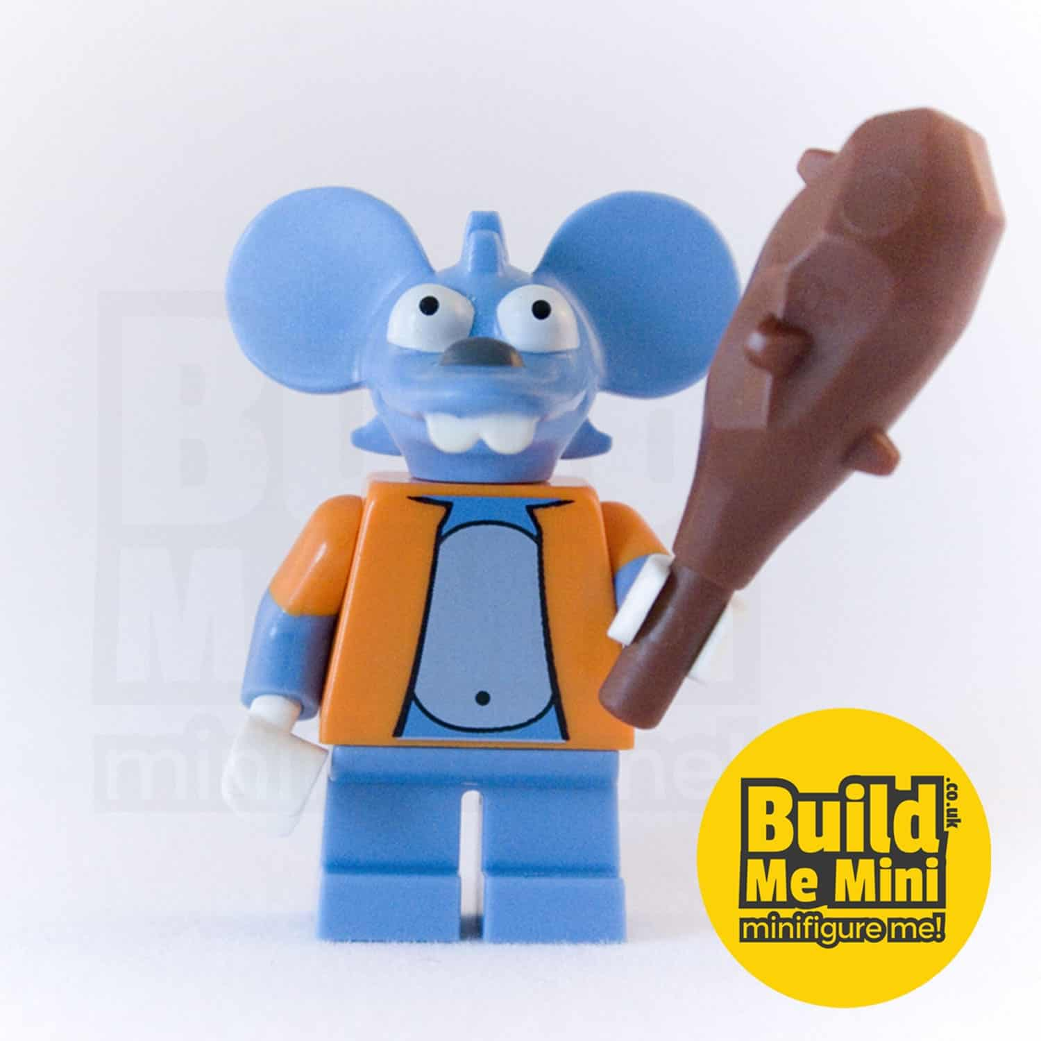 LEGO Simpsons Itchy Minifigure