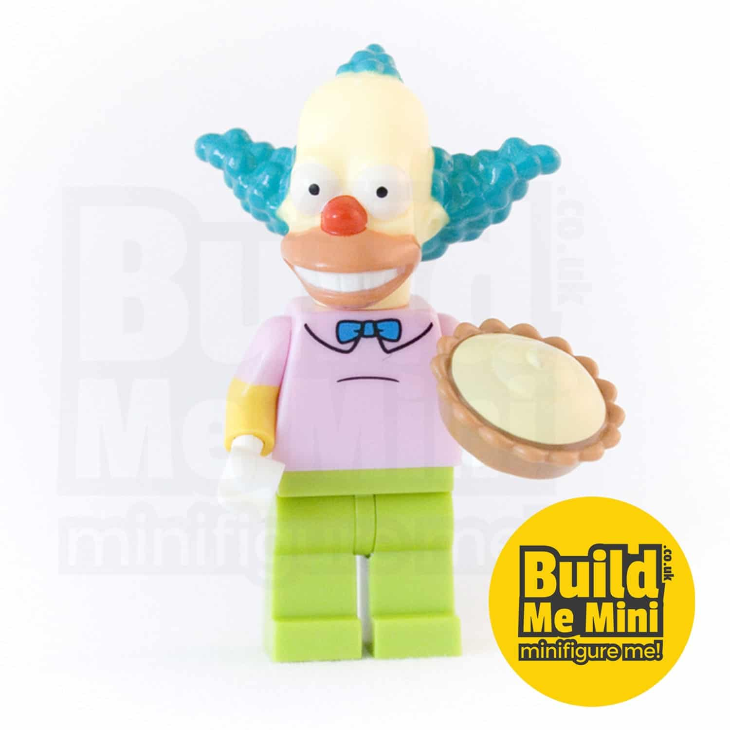 LEGO Simpsons Krusty the Clown Minifigure