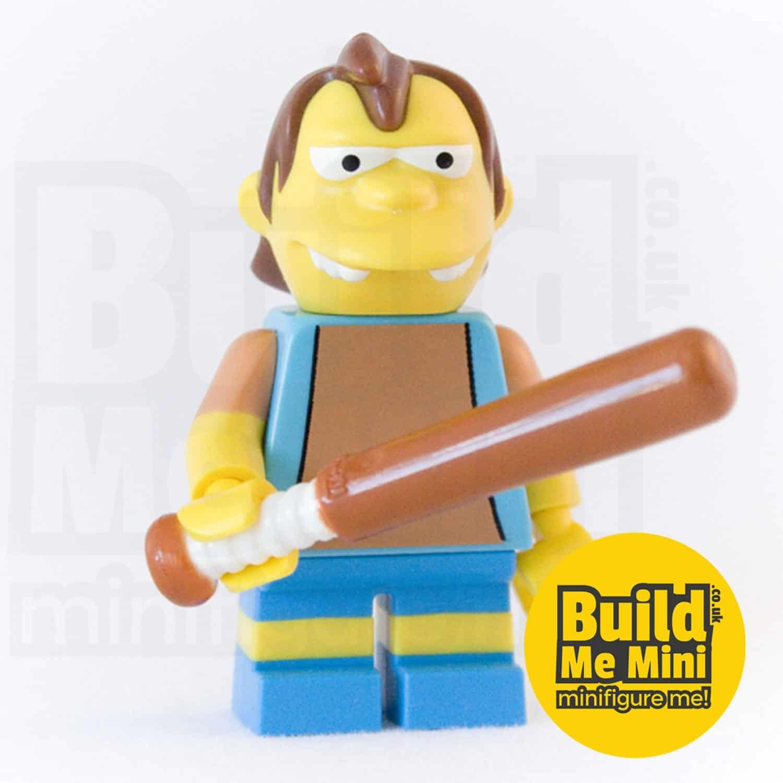 LEGO Simpsons Nelson Muntz Minifigure