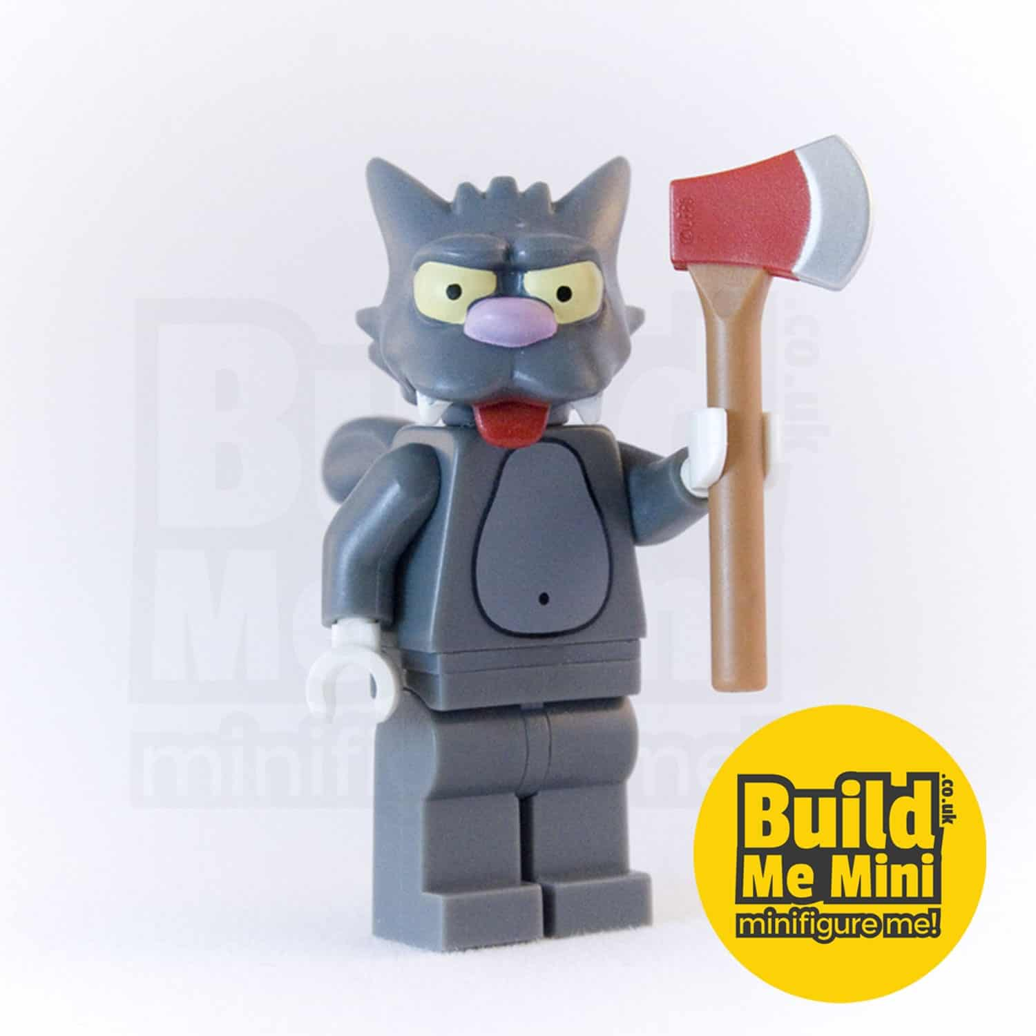 LEGO Simpsons Scratchy Minifigure