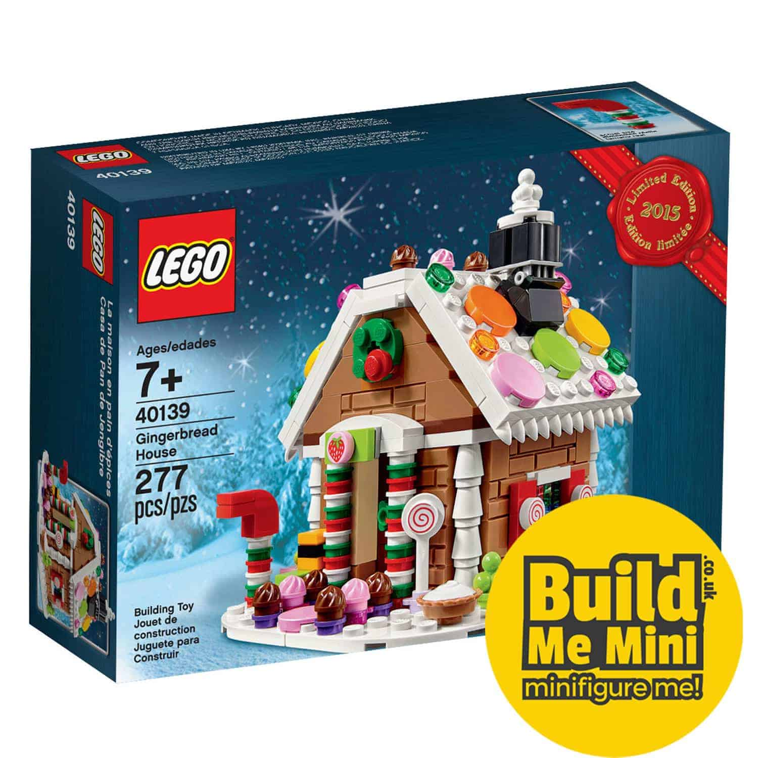 LEGO Gingerbread House 2015 Limited Edition Set 40139