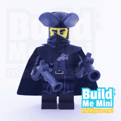 LEGO Mystery Highway Robber Man Collectible Minifigure Series 17