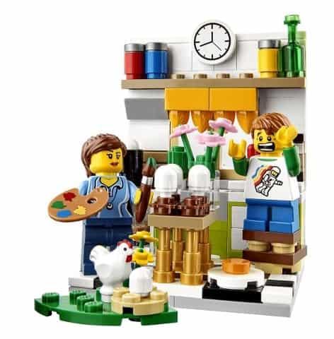 LEGO Easter Scene Set 40121 2015
