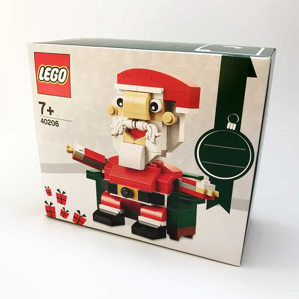 2016 Seasonal LEGO® Set 40206 Santa – Limited Edition (Christmas)