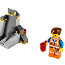 LEGO Set 30280 LEGO Movie - The Piece of Resistance Emmet Figure Polybag
