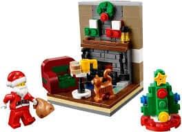 LEGO Christmas Santa Scene 2015 Seasonal LEGO Set 40125