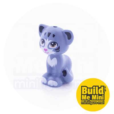 LEGO Minifigure Scale Cat