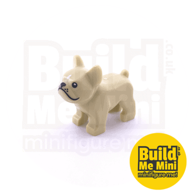 LEGO Minifigure Scale Dog