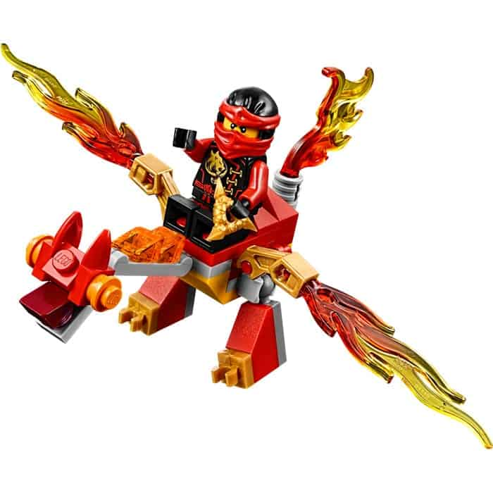 LEGO Set 30293-1: Ninjago Kai's Mini Dragon Polybag
