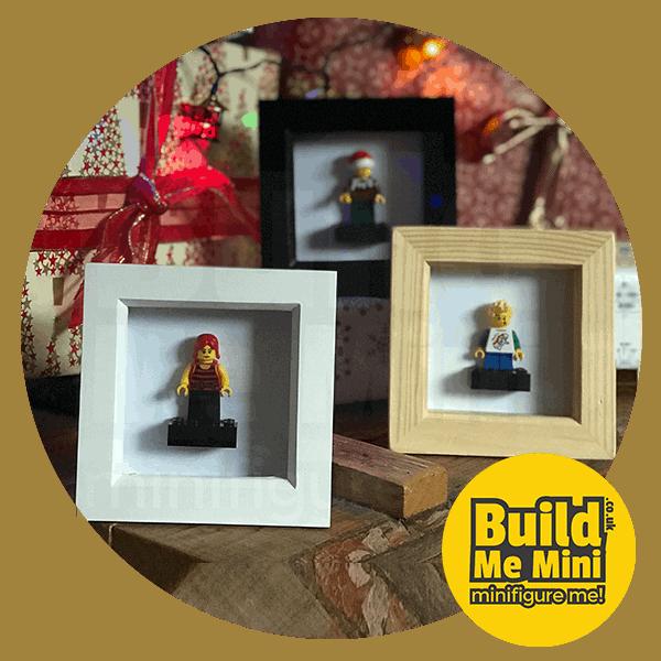 Mini LEGO® Minifigure Display Frame in 4 Colours