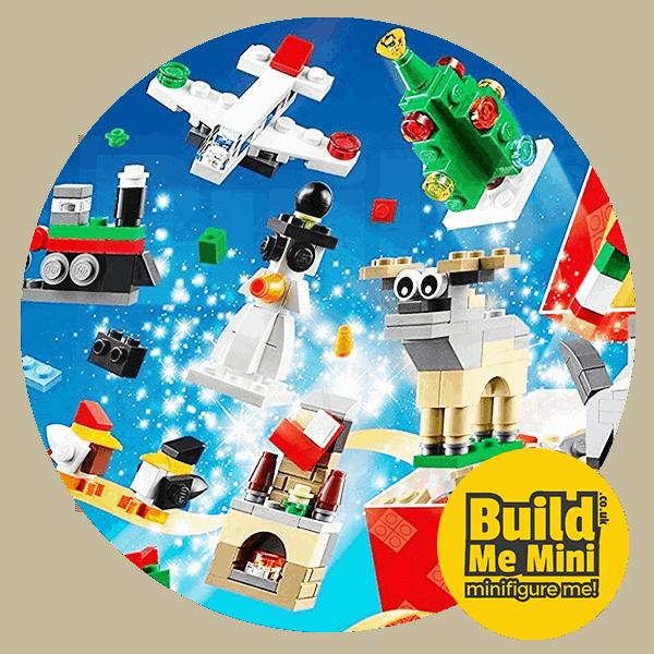 LEGO Set Christmas Calendar 24 in 1 Mini Sets (2016)