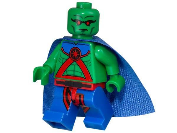 LEGO Set 5002126 DC Super Heroes Justice League Martian Manhunter Minifigure Polybag