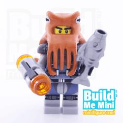 LEGO Ninjago Movie Shark Army Octopus Collectible Minifigure Series