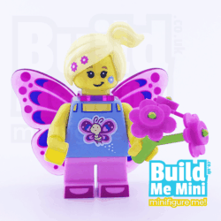 LEGO Butterfly Fairy Girl Collectible Minifigure Series 17