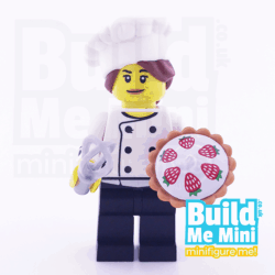 LEGO Gourmet Chef (Baker) Collectible Minifigure Series 17