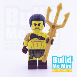 LEGO Roman Gladiator Collectible Minifigure Series 17