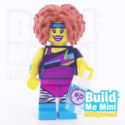LEGO Dance Instructor Yoga Pants Collectible Minifigure Series 17