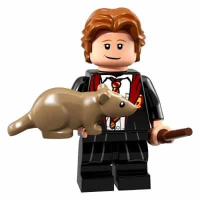 LEGO Minifigures Series Wizarding World Ron Weasley Hogwarts Robes (Harry Potter 71022)