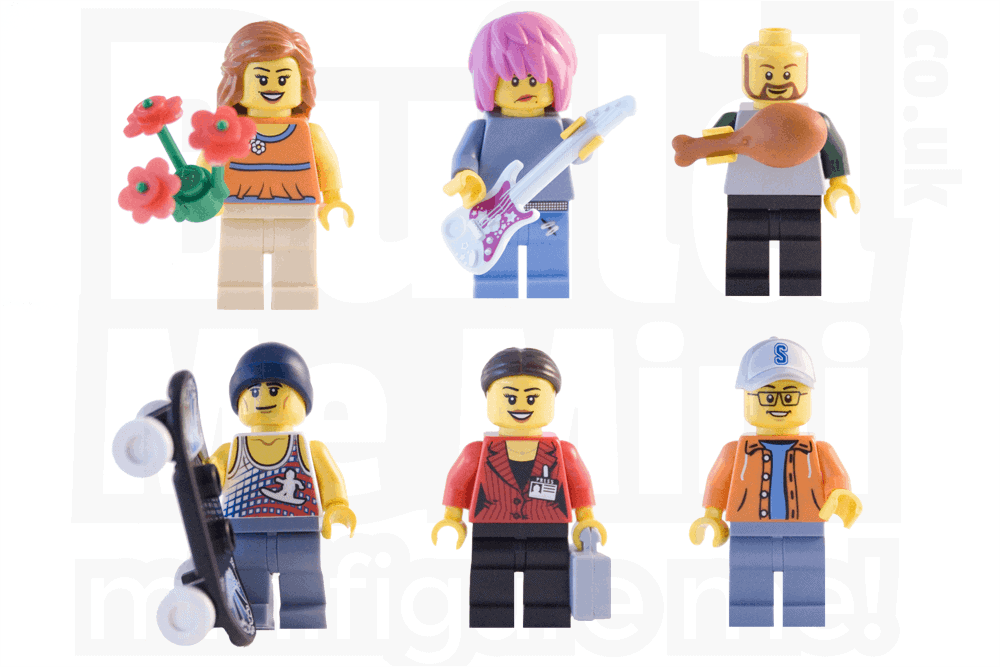 Personalised LEGO® Minifigure No Info