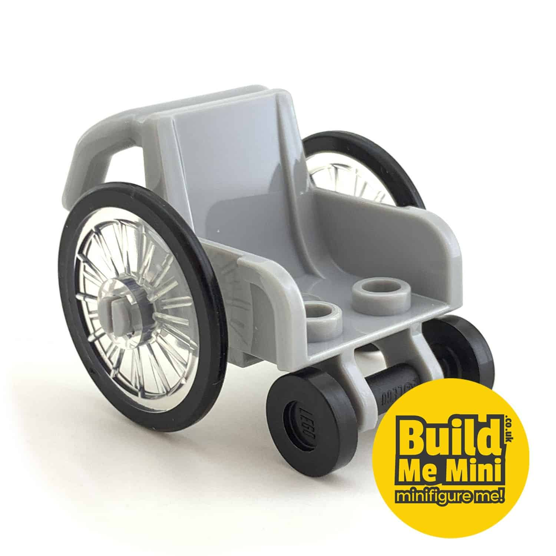 Lego Minifigure Scale Wheelchair