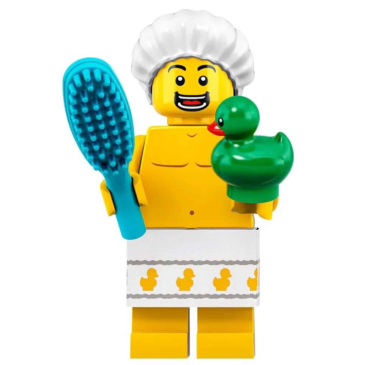LEGO Bath tub Minifigure and Ducky – Series 19 CMF
