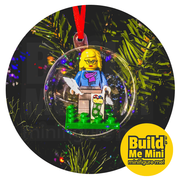 LEGO Minifigure Christmas Tree Bauble Decoration