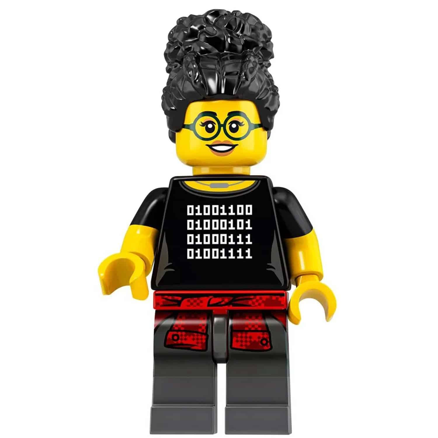 LEGO Coder Girl with Robot and Laptop – Series 19 CMF