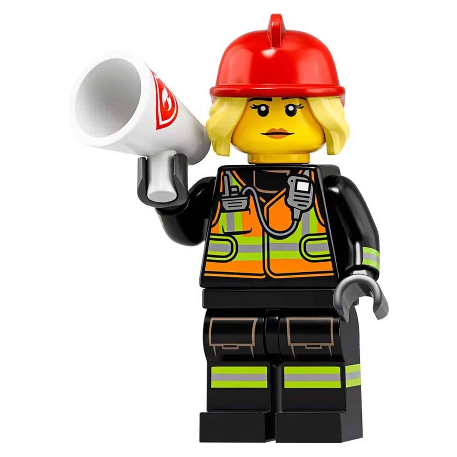 LEGO Firefighter Minifigure – Series 19 CMF