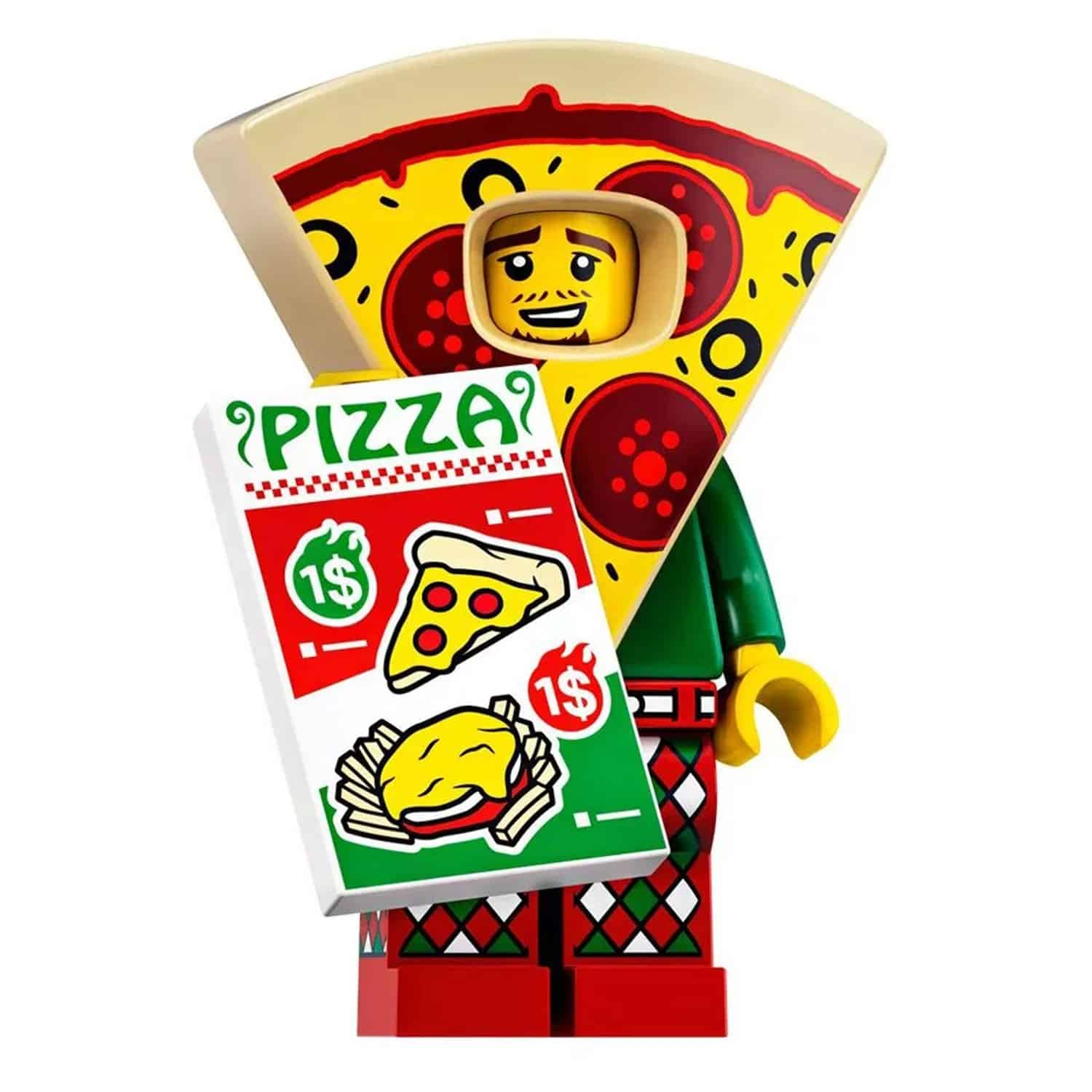 LEGO Pizza Suit Guy Minifigure – Series 19 CMF