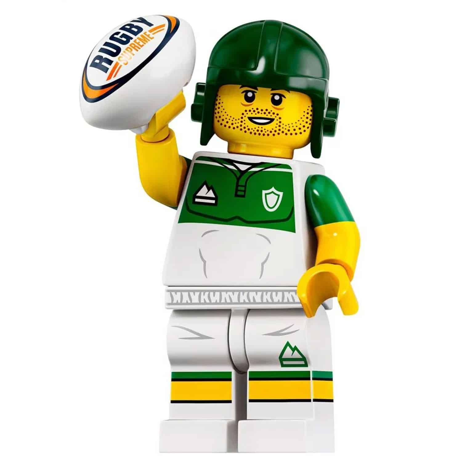 LEGO Rugby Player Minifigure – Series 19 CMF