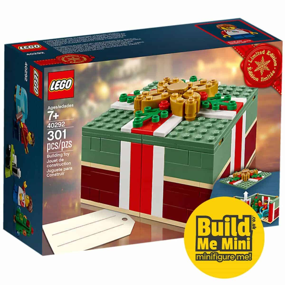 2018 Limited Edition LEGO Christmas Gift Set 40292