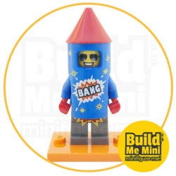 LEGO Series 18 CMF Firework Rocket Suit Guy Minifigure