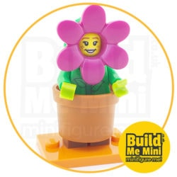 LEGO Series 18 CMF Flower Pot Suit Minifigure