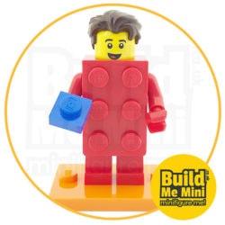 LEGO Series 18 CMF Classic Red Brick Suit Minifigure