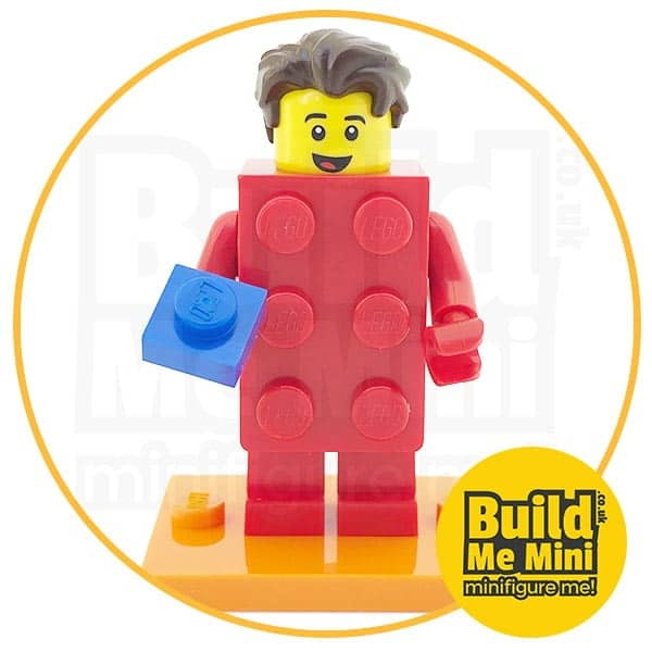 LEGO Series 18 CMF Classic Red Brick Suit Minifigure
