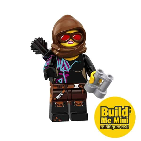 LEGO Movie 2 Minifigures Series Battle-Ready Lucy