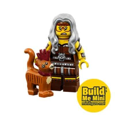 LEGO Movie 2 Minifigures Series Apocalypseburg Mrs. Scratchen Post