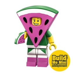 LEGO Movie 2 Minifigures Series Watermelon Suit Guy