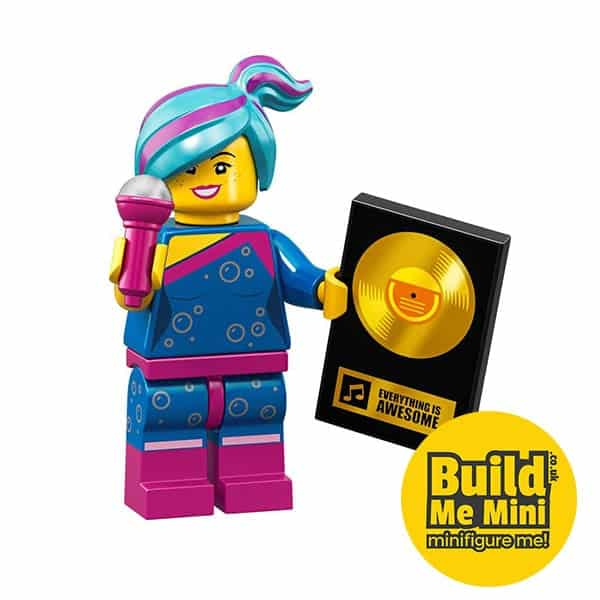 LEGO Movie 2 Minifigures Series Flashback Lucy