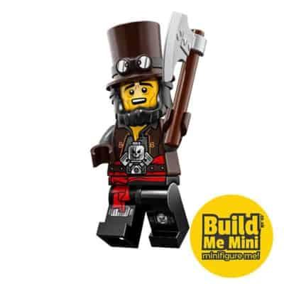 LEGO Movie 2 Minifigures Series Apocalypseburg Abraham 'Abe' Lincoln