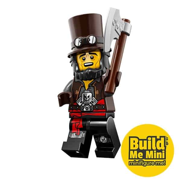 LEGO Movie 2 Minifigures Series Apocalypseburg Abraham 'Abe' Lincoln