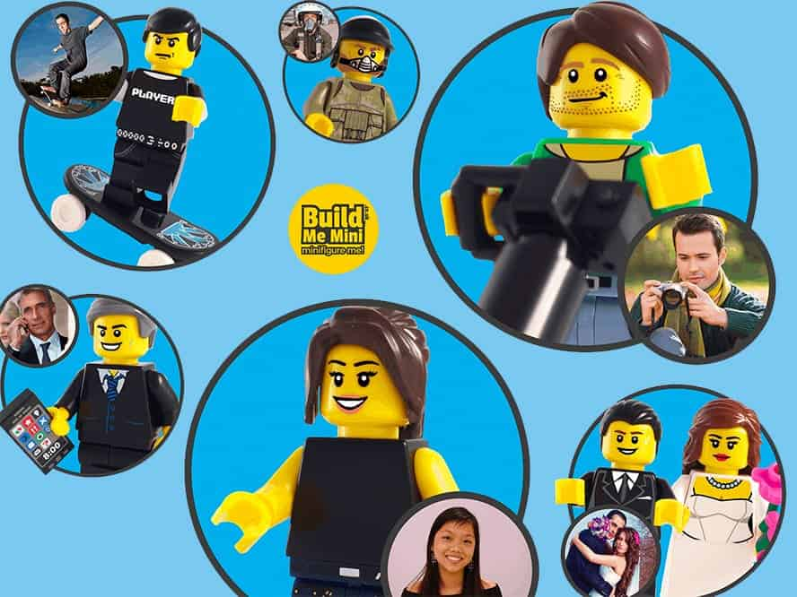 personalised Lego figures